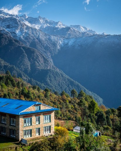 October is the most popular month to trek to Everest, favoured for good weather and clear skies.