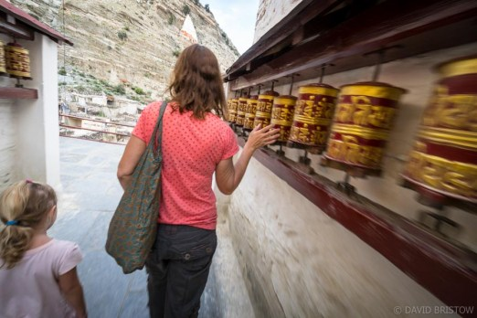 We stroll on to Marpha, chatting to locals who gift us more apricots