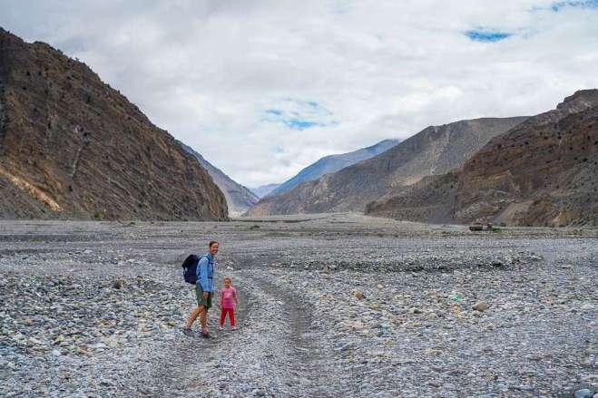 Hiking in the Kali Gandaki