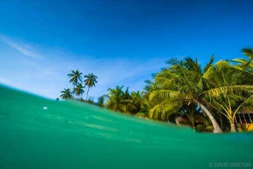 Beachside living on Maratua Island , Kalimantan