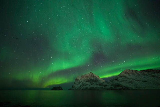 Northern lights with 14-24mm lens in Norway