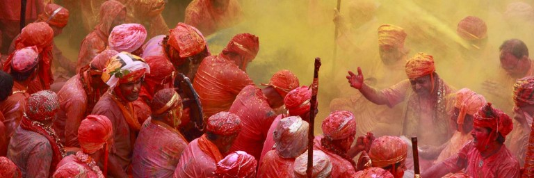 Places to see Holi