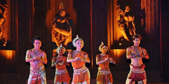 Dance festival at Khajuraho