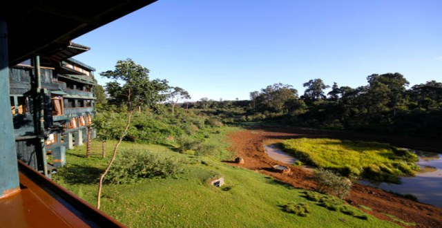 The unobstructed sight of Nakuru as seen from the lodge