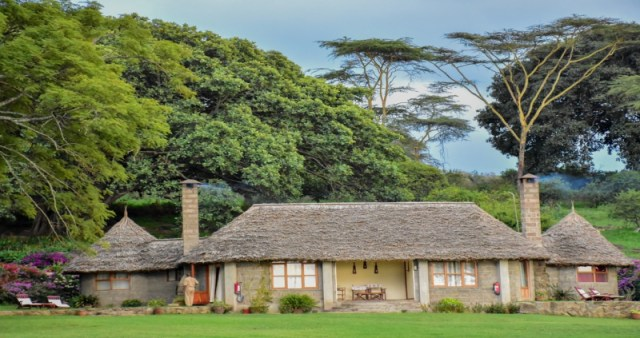 An old Kenyan house for guests