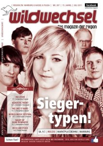 Battle of the Bands is back! - Auf dem Cover vom Wildwechsel!