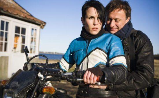 Szene aus Verblendung mit Naomi Rapance und Miakel Nyqvist (Stieg Larssons Millennium-Trilogie)