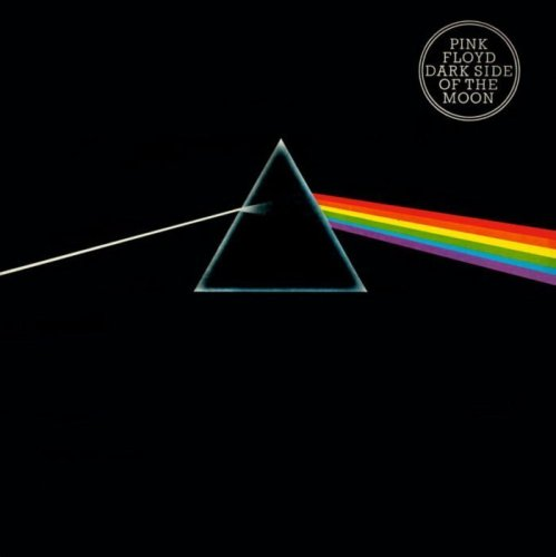 """""""The Dark Side of the Moon"""", eines der bekanntesten Alben von Pink Floyd (EMI/Harvest Records)"""