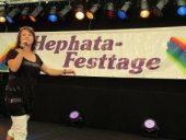 Tony Marshall, Nicki und viele regionale Künstler feierten die Hephata-Festtage