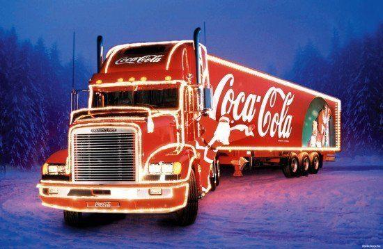 Kling-Kling-Kling! - der Coca-Cola-Weihnachtstruck kommt nach Kassel