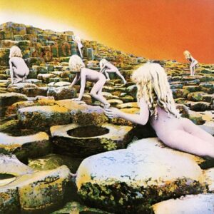 "Led Zeppelin: ""Houses of the Holy"" - Erscheinungsdatum: 28. März 1973 -  Label: Atlantic Records"