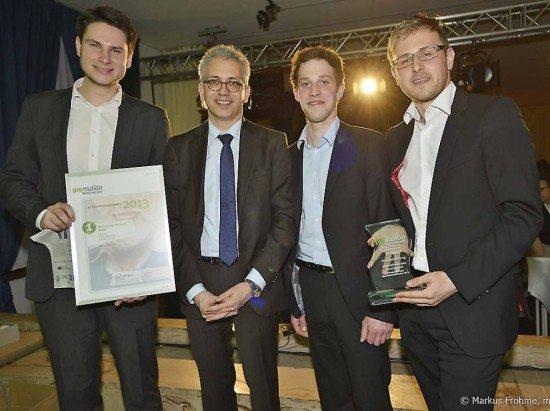 Gründerpreis Promotion Nordhessen verliehen: Gute Idee aus Kassel!