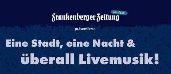 Die Nacht groovt! Kneipenfestival in Frankenberg
