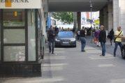 Gregor Gysi anlässlich der Europawahl in Kassel