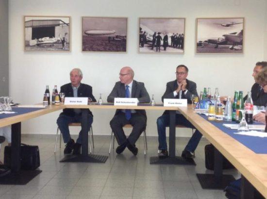 Pressekonferenz Flughafen Kassel-Calden 2014
