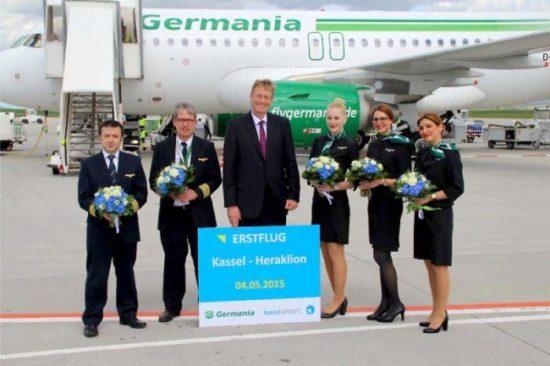 Germania nimmt Flüge nach Heraklion ins Programm: