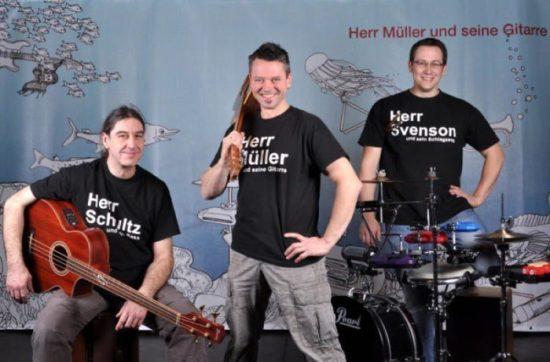Herr Müller und seine Gitarre