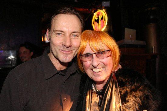 Theaterstübchenmacher Markus Knierim mit seiner Mutter