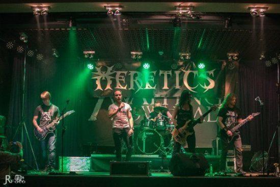 """Heretics sind einer der Bands, die auf dem """"Metal in Verne"""" die Bühne beben lassen wollen."""