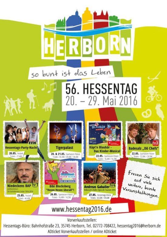 Hessentag in Herborn 2016: Jetzt Fan-Artikel im Online-Shop erhältlich