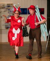 Paul und Anneliese (Theater KuckAn) kommen zum Wellnessurlaub an den Silbersee (Archivfoto: Rainer Sander)