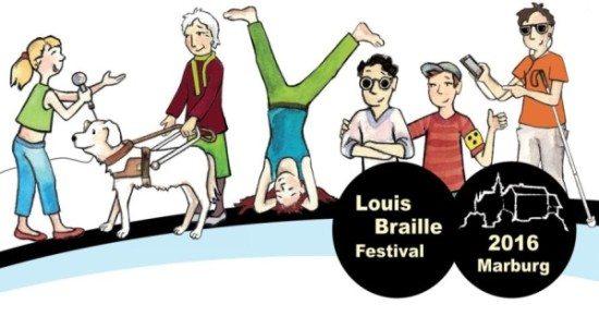 Louis Braille Festival vom 1.–3. Juli 2016 in Marburg