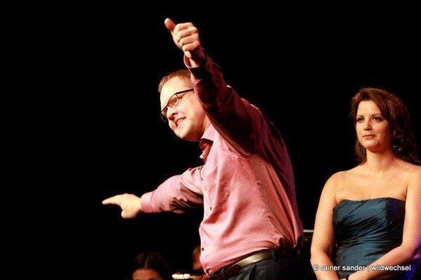 Vorsicht Gebläse XXL in der Baunataler Stadthalle: Konzert mit Wow-Effekt