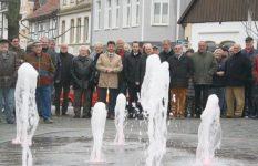 Einweihung des Gebrüder-Warburg-Platzes