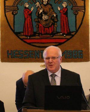 Foto: Bürgermeister Hans Benner