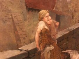 Großformatiges Hans-Kohlschein-Gemälde an Stadt Warburg geschenkt