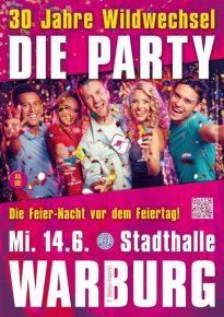 Drei DJs der 30 Jahre Wildwechsel-Party im Portrait!
