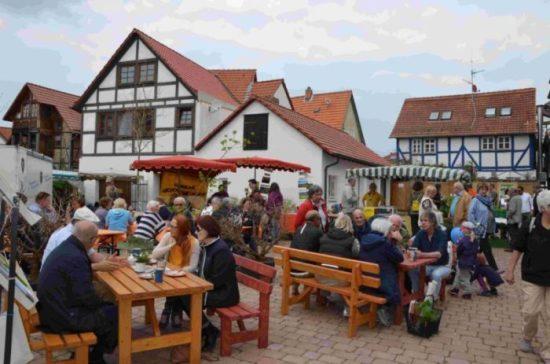 Der Brauplatz auf dem Kaufunger Herbstmarkt