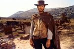 "Clint Eastwood in seiner Rolle als Der Blonde im Film ""The Good, The Bad And The Ugly"" (dt. Titel paradoxerweise: Die glorreichen Halunken - Leih-DVD 20th Century Fox)"