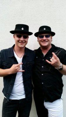 Benedict Elbel (links) und Mike Gerhold