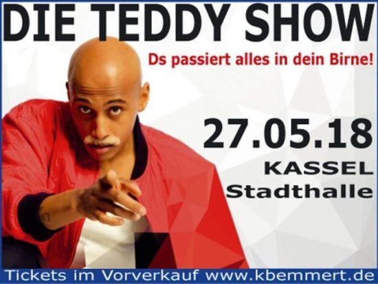 Die Teddy Show in Kassel - Was für eine Mauer, ey?