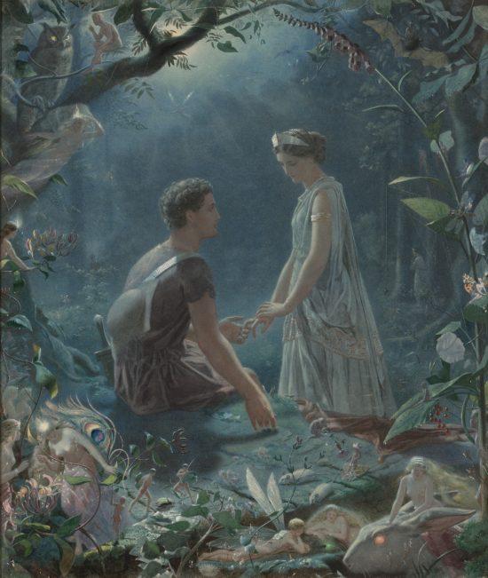 Sommernachtstraum - Hermia und Lysander John-Simmons