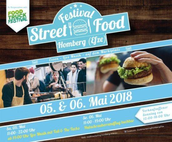Eat, Pray, Homberg - Street Food Festival am Marktplatz