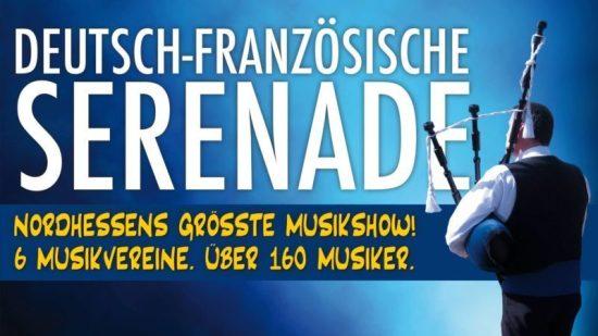 Deutsch-französiche Serenade am 12.5.2018 in Baunatal