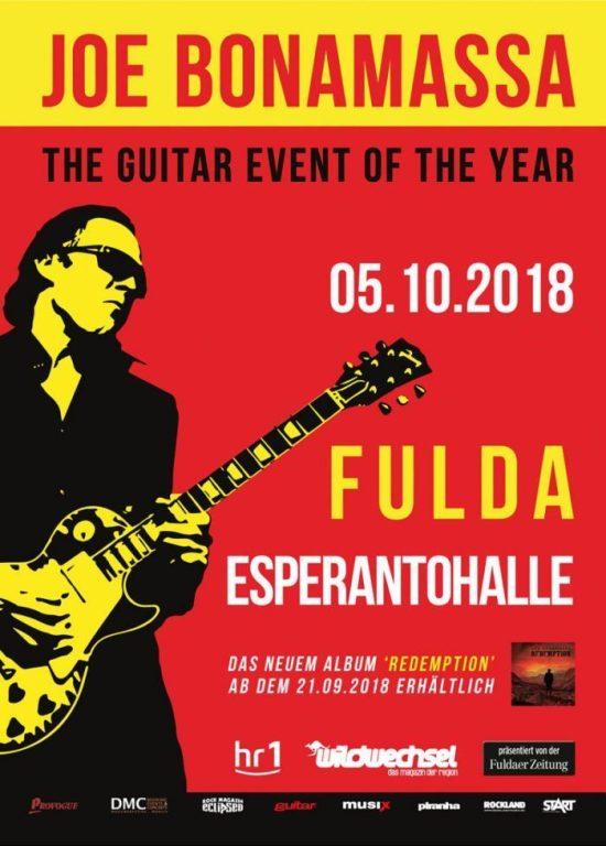 Ein Mann, eine Gitarre: Joe Bonamassa in Fulda - präsentiert vom Wildwechsel!
