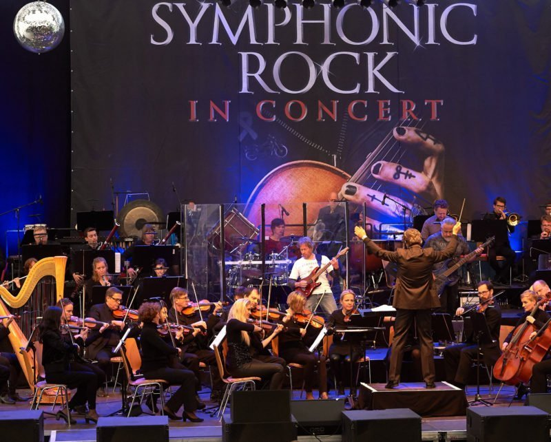 """Symphonic Rock In Concert"" mit Queen, Led Zeppelin, Rolling Stones Songs"