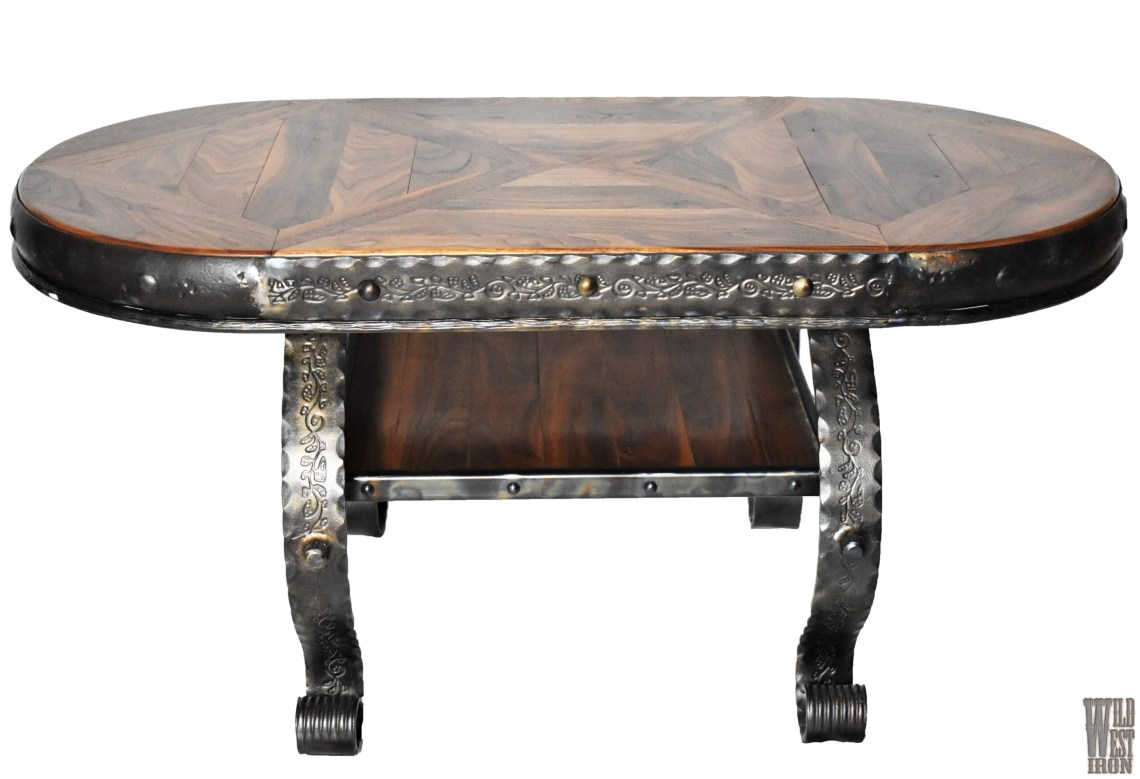 Oval Coffee Table Variation Two Front