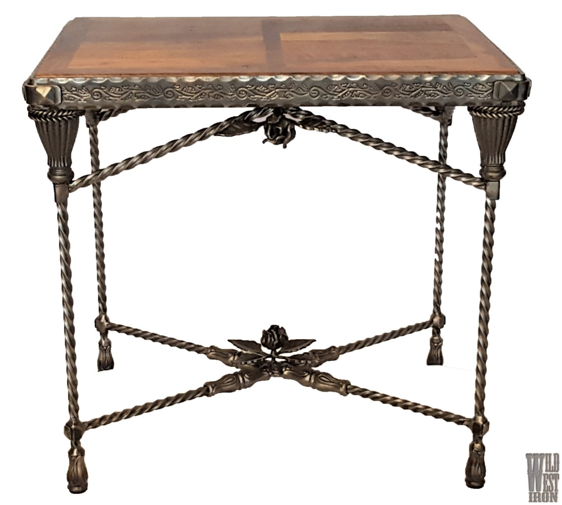 Rose End Table Variation Three Front