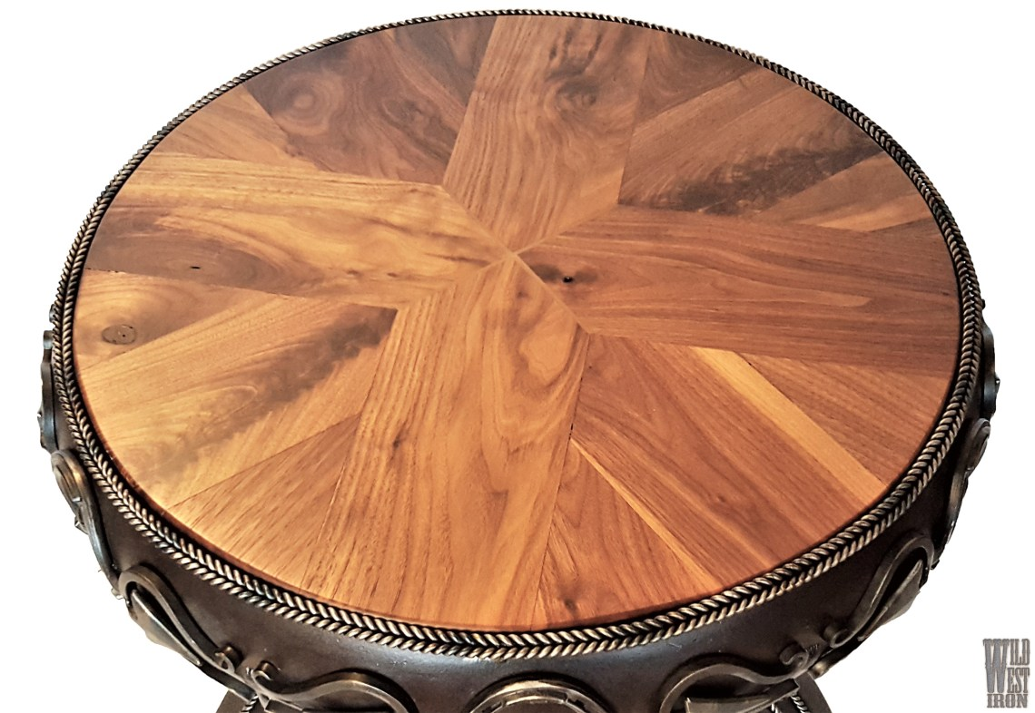 Round Coffee Table Variation Two Top