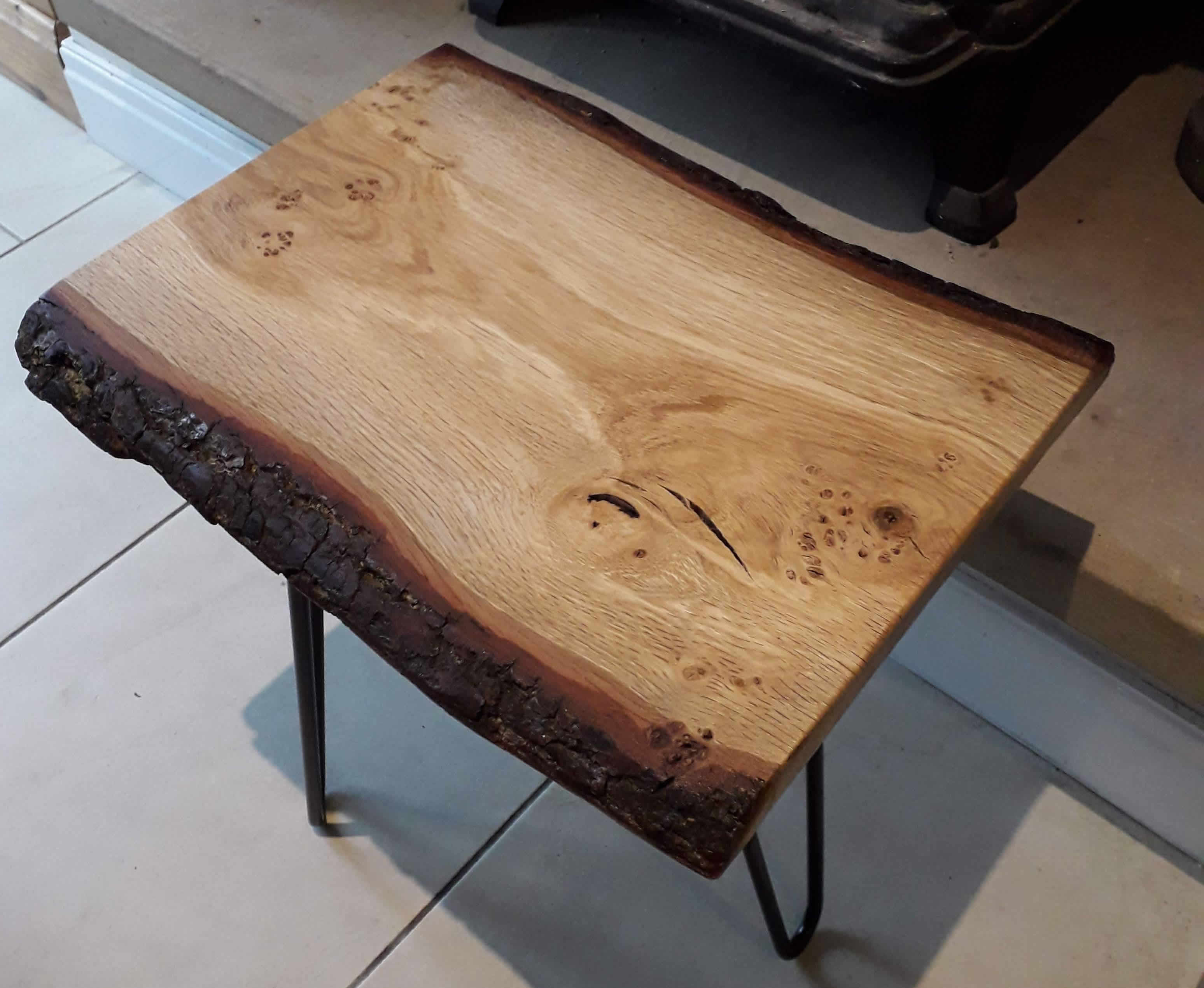 Gin Or Whisky Table Oak