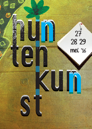 flyer huntenkunst