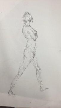 Figure Study II (Gestural)