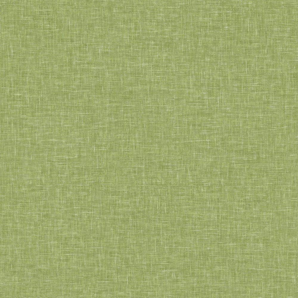 Arthouse Wallpaper Linen Texture Moss Green Wilko