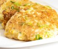 corn and zucchini fritters vertical