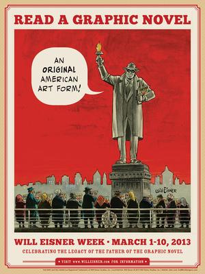 Will Eisner Week 2013 poster
