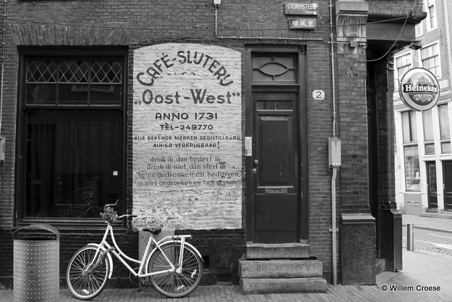Gevelreclame Oost-West - Willem Croese